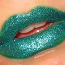 Emerald Glitter Lips
