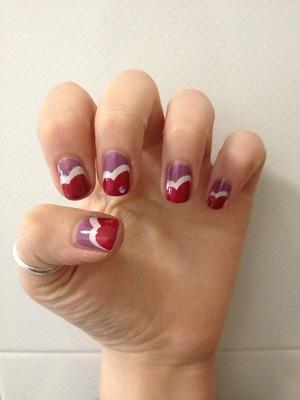 Easy nail art :)