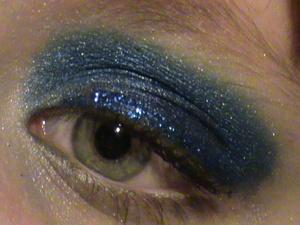 futuristic blue look