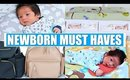 NEWBORN BABY MUST HAVES + ESSENTIALS!