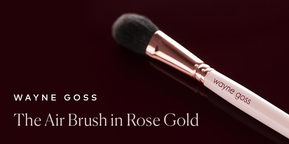 Wayne Goss The Rose Gold Air Brush is now available!
