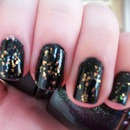 China Glaze Smoke & Ashes and Luxe & Lush Nail Polishes