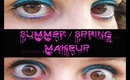 Spinger Makeup tutorial (Summer / Spring Makeup) / Maquillaje primavera - verano
