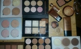 HIGHLIGHTERS for BROWN SKIN