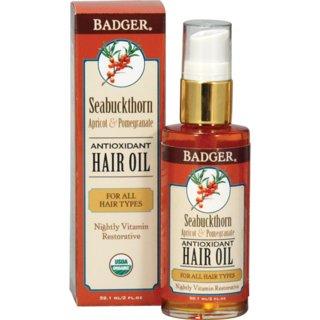 Badger Seabuckthorn Hair Oil