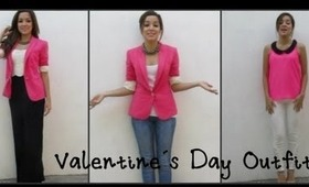 3 Valentine´s Day Outfit Ideas