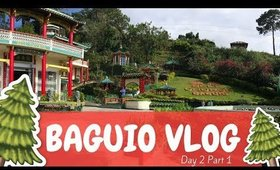 Baguio Vlog (2017) Day 2 Part 1  | Team Montes Vlog