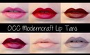 WHAT THE SWATCH?!: OCC Moderncraft Lip Tars PLUS Lip Swatches