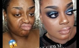 CHIT CHAT GRWM: DATE NIGHT #makeuptutorial #grwm