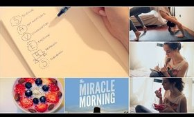 Morning Routine For Success And a Happy Life - THE MIRACLE MORNING