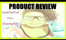 Product Review | L`Oreal EverCurl Cleansing Balms | Jessibaby901