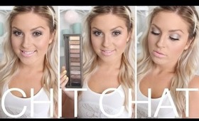 Chit Chat Getting Ready ♡ Silver Eyes & Baby Pink Lips