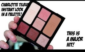TESTED! CHARLOTTE TILBURY GORGEOUS GLOWING BEAUTY PALETTE!