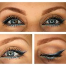 Mix Of Blue Eyeliner