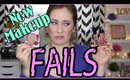 New Makeup Products I Regret Buying!