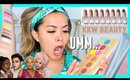 TRYING HOT NEW PRODUCTS! KKW Beauty Nude Lipsticks, Manny MUA Lunar Beauty, Jet Lag Mask + More!