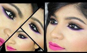 Spring Makeup || Colorful Bottom Lash Line
