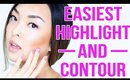 The Easiest Cream Highlight & Contour Tutorial For Beginners | chiutips