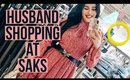 Come Husband Shopping With Me at SAKS! Stuart Weitzman, Valentino, Louis Vuitton & MoRe!
