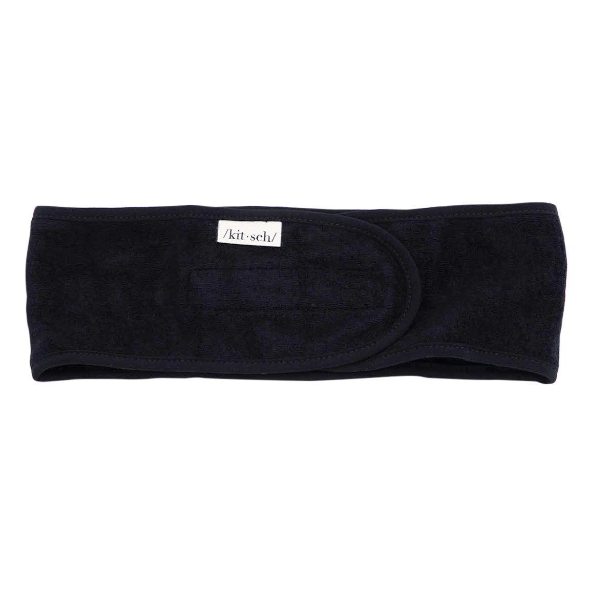 Kitsch Eco-Friendly Spa Headband Black alternative view 1 - product swatch.