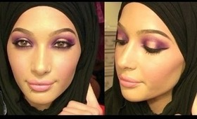 Get Ready With Me For Work @ Sephora :)           *Purple Smokey Eye*