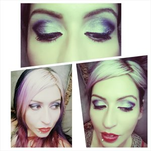 Just another work look inglot pigment and freedom system ,gel linner ,foundation,