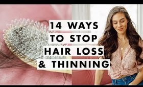 14 Ways to Deal with Shedding, Thinning & Hair Loss