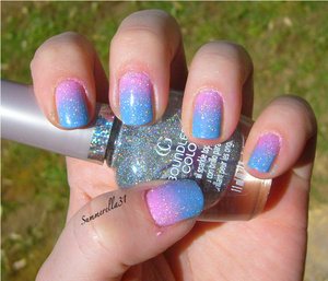 China Glaze Electric Beat and Dance Baby w/ Cover Girl City Lights