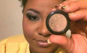 Makeup Tutorial: Bronze and  black eye makeup