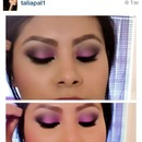pink,purple,brown,black eyesshowdow