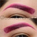 Pink Brows @EsmieMakeup