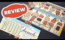the Balm Nude Beach Palette Review and Swatches