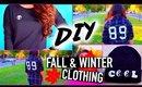 DIY fall clothes: Tumblr Inspired