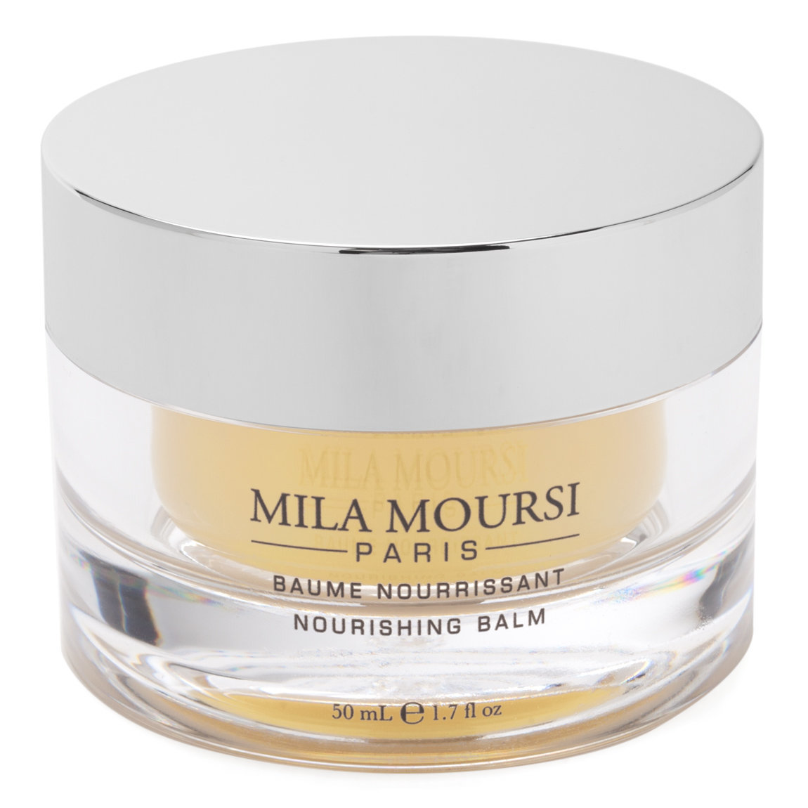 Mila Moursi Nourishing Balm product swatch.