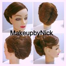 Chinese Inspired hairstyle