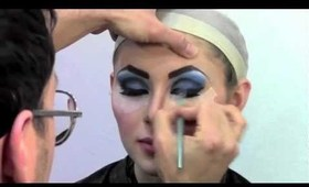 Makeup Magic Part Three - Transforming Elizabeth Taylor w Mathias Alan