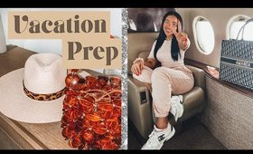 How I Prep for Vacation! (vlog)