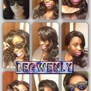 Summer Hair Collage
