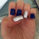 Blue&silver