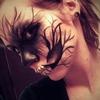 Dark Shadowed Skull