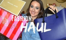 Fashion HAUL / Obag,Victoria Secret,Michael Kors...