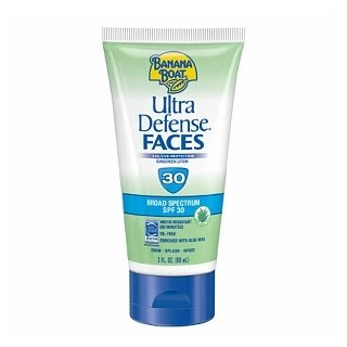 Banana Boat Ultra Defense Sunscreen Faces SPF 30 Lotion