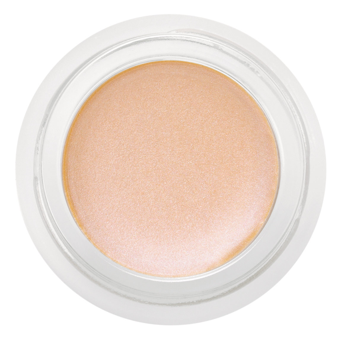 rms beauty Champagne Rosé Luminizer product swatch.