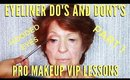 Eyeliner Do's & Don'ts To Lift Mature Eyes Mistakes To Avoid   mathias4makeup