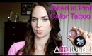 Maybelline Inked in Pink Color Tattoo Metal Eyeshadow Tutorial