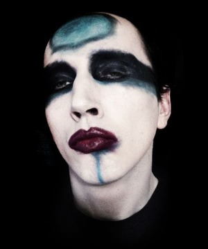 I copied the makeup style of Marilyn Manson from his 2014 tour.