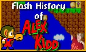 Flash History of : Alex Kidd