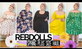 Rebdolls Plus Size Try On Haul | Spring 2020