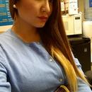 My Auburn/Blonde Ombre Hair