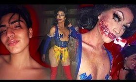 Zombie Snow White DRAG QUEEN Time-lapse